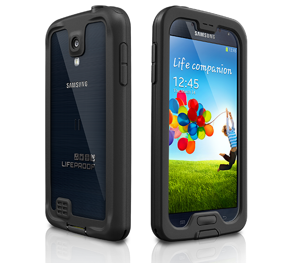 Less case. More Galaxy S4.