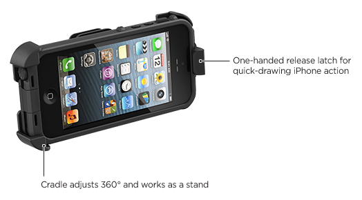 LifeProof iPhone 5 frē ベルトクリップ