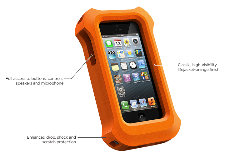 Gilet de sauvetage LifeProof pour iPhone 5