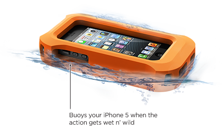 Coque frē pour iPhone 5 de LifeProof Gilet de sauvetage LifeProof