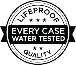 LifeProof Qualit&auml;t - Jedes Schutzgeh&auml;use wird einem Wassertest unterzogen!