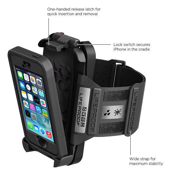 LifeProof iPhone 5s frē Armband