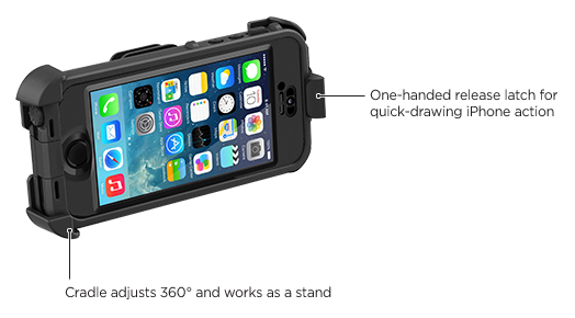 LifeProof iPhone 5s frē Belt Clip