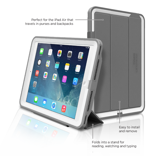 LifeProof iPad Air Cover + Stand