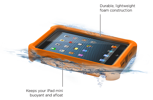 LifeProof iPad mini nüüd LifeJacket