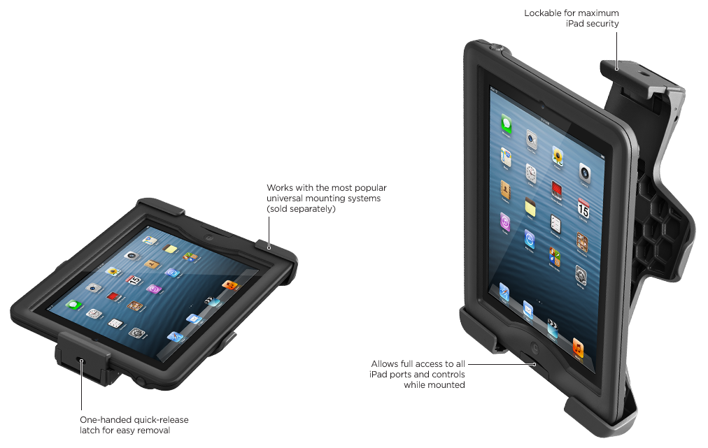 Support LifeProof pour iPad