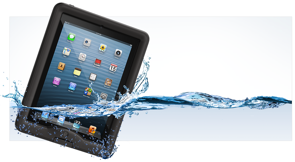 LifeProof n&uuml;&uuml;d Apple iPad Case - Naked touch experience, LifeProof confidence.